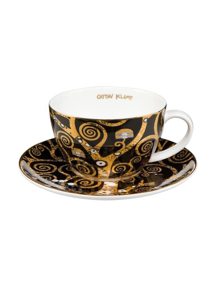 """Goebel Goebel Tee-/ Cappuccinotasse Gustav Klimt - """"Der Lebensbaum"""", Klimt - Lebensbaum"""