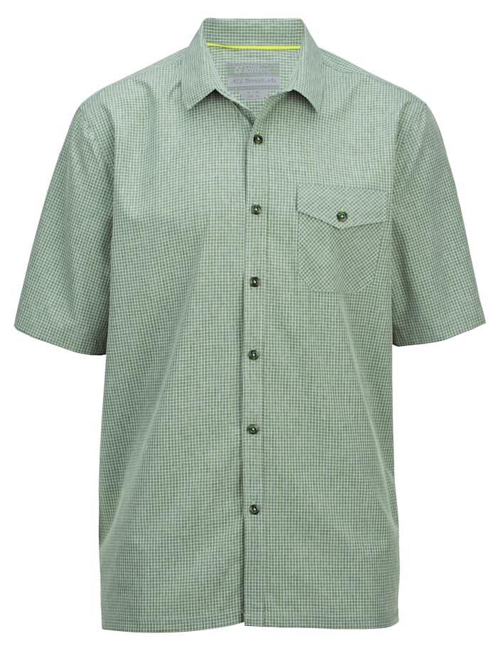 Killtec Overhemd van sneldrogend materiaal, Groen