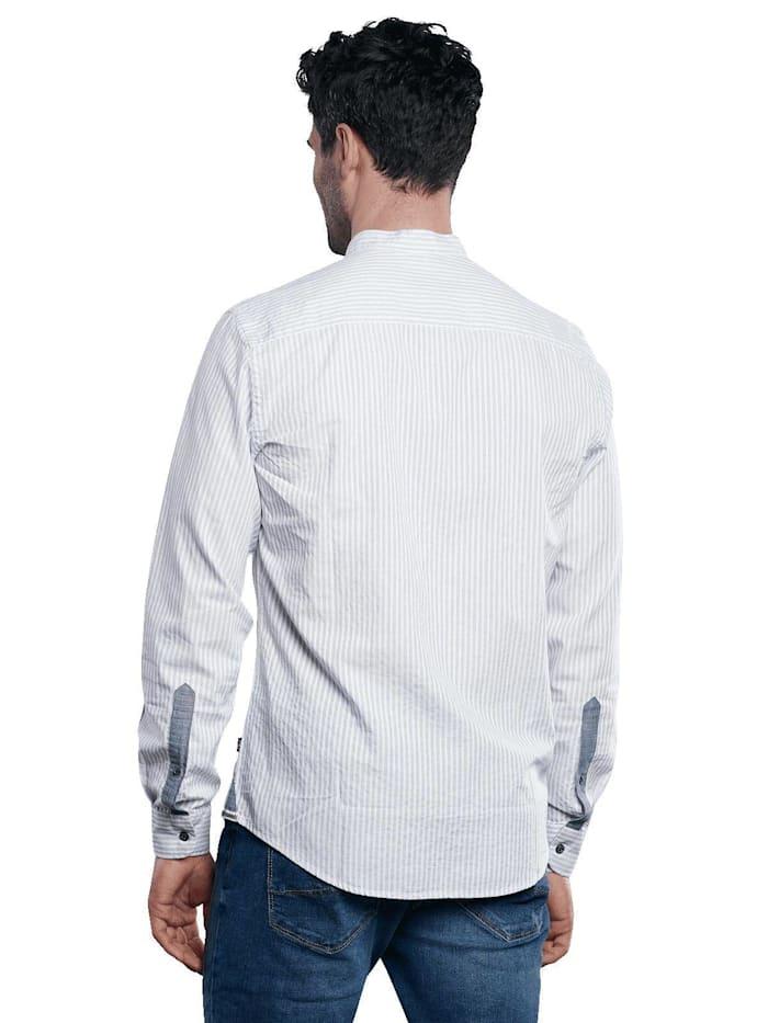 Baumwollhemd im Streifendesign
