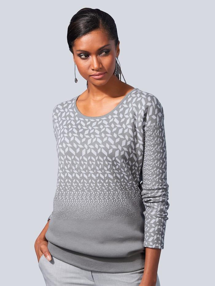 Pullover mit Minimal-Dessin