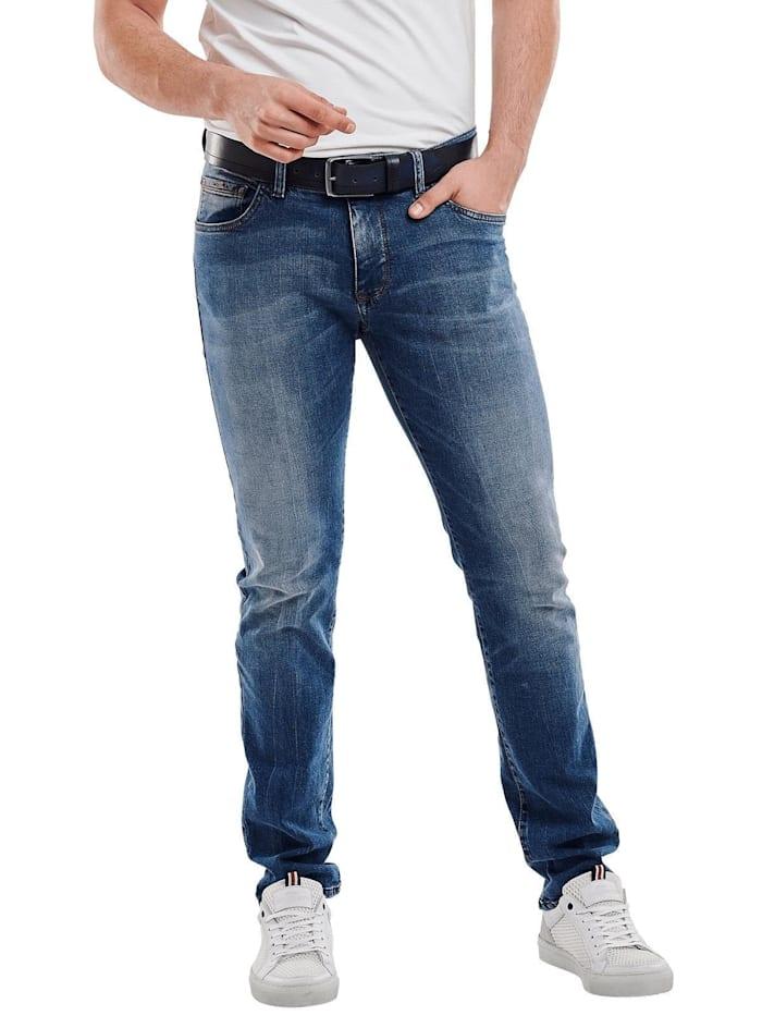 Engbers Jeans straight, Taubenblau
