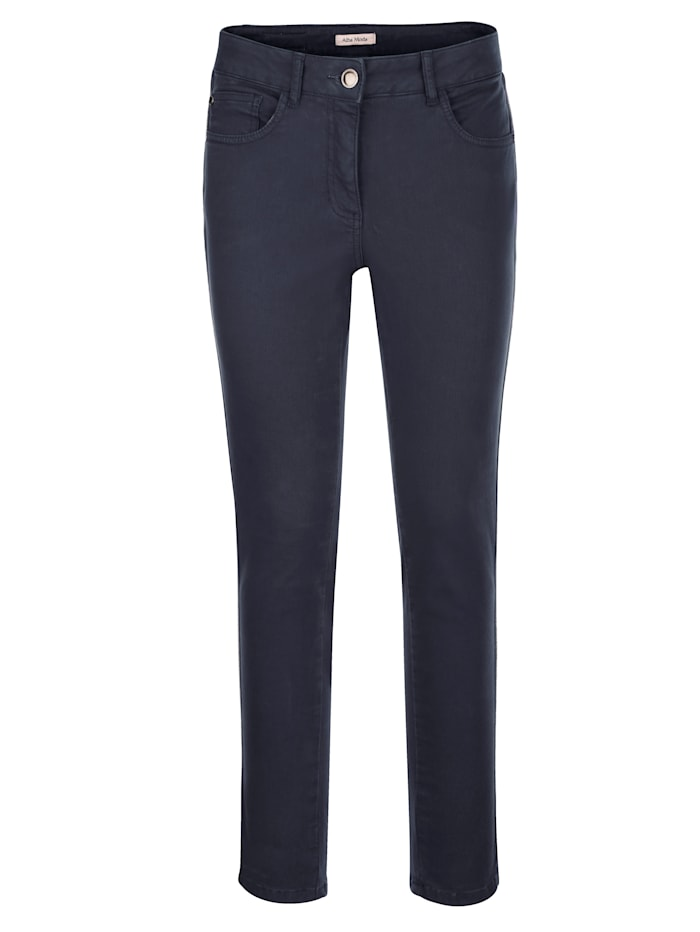 Pantalon à galon rayé scintillant
