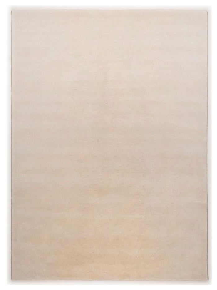 Theko®die Markenteppiche Handknüpfteppich Lavan, Weiß