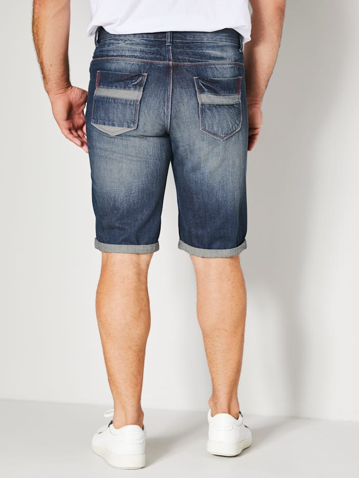 Jeans Bermuda in 5-Pocket-Form