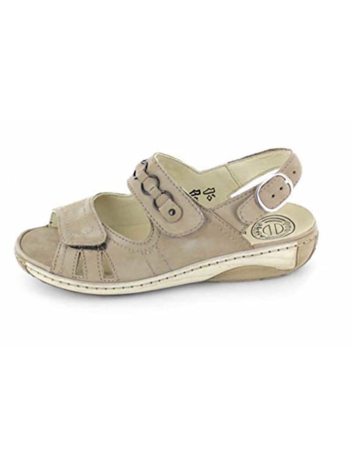 Damen Sandale in beige