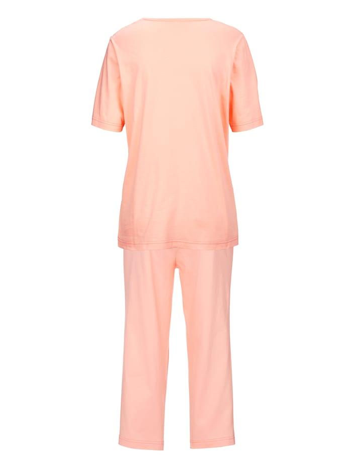 Schlafanzug mit platziertem Druck 2er Pack
