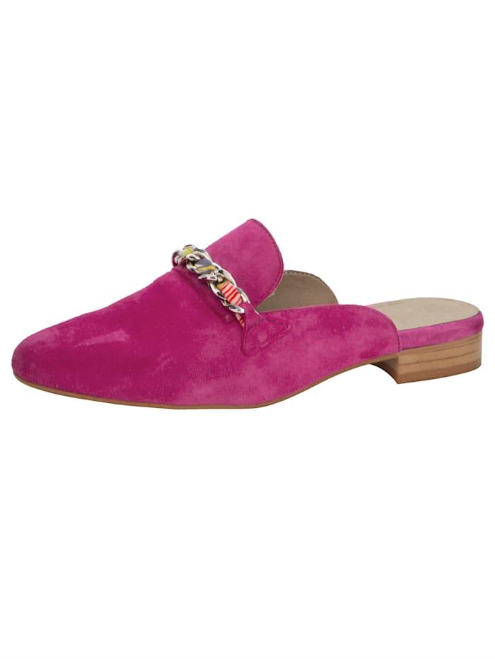 Muiltje met mooie sierketting, Pink