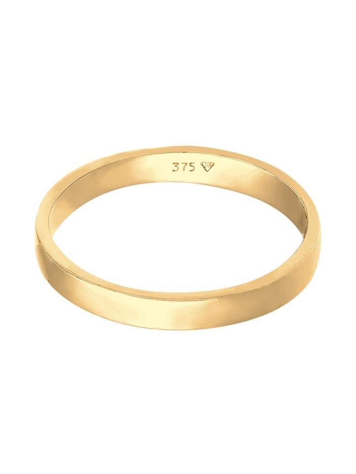 Ring Ehering Trauring Partnerring Basic 375 Gelbgold