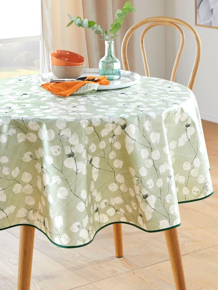 Peyer-Syntex Wachstuch-Tischwäsche 'Lou', grün