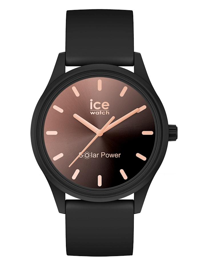 Ice Watch Solaruhr S Schwarz/Sonnenuntergang, Rosé