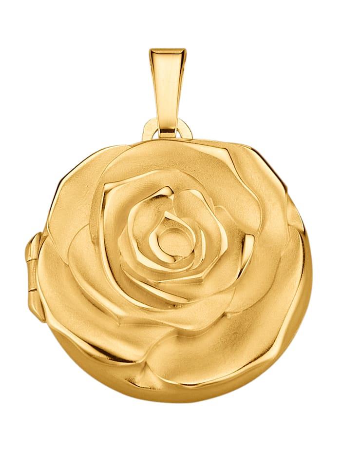 Amara Highlights Anhänger Silber vergoldet, Gelbgoldfarben