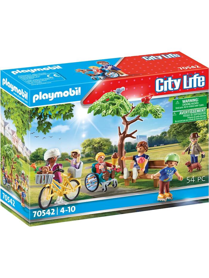 PLAYMOBIL Konstruktionsspielzeug Im Stadtpark, Bunt