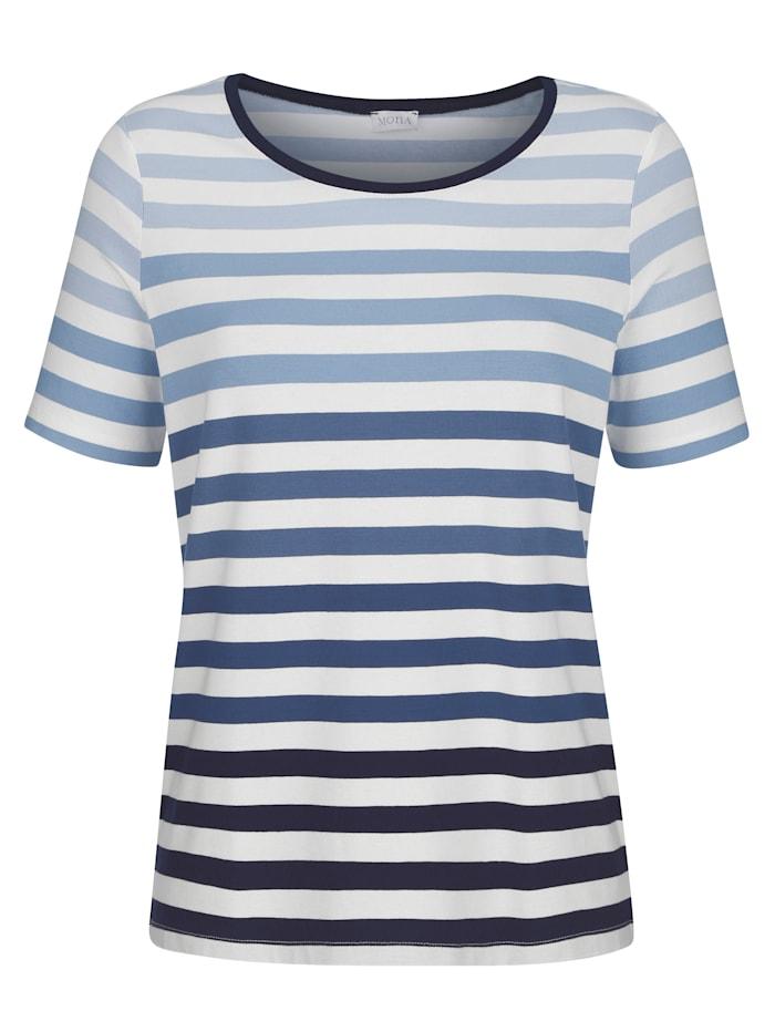T-shirt à motif rayé intemporel