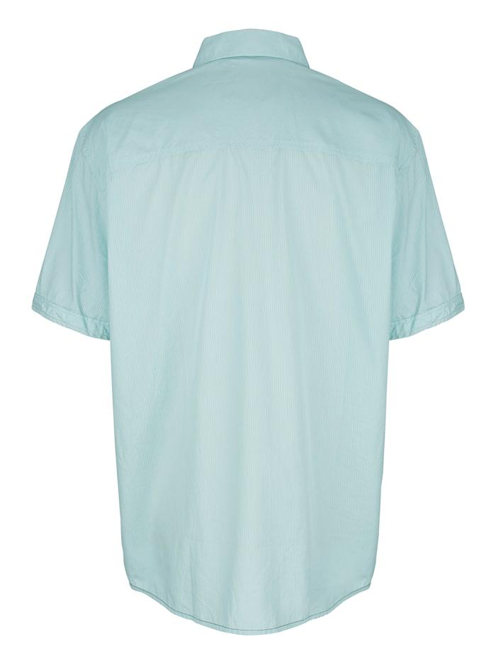 Overhemd met praktische borstzakken