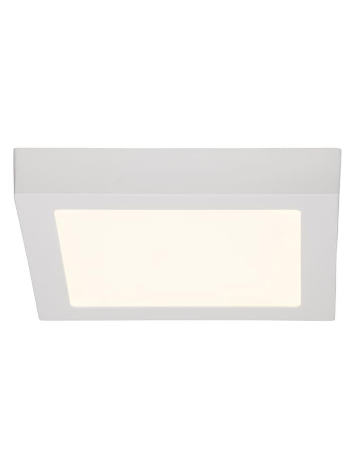 Brilliant Jarno LED Aufbauleuchte 23x23cm weiß, weiß