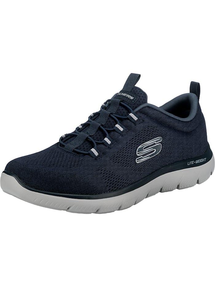 Skechers Summits Louvin Slip-On-Sneaker, dunkelblau