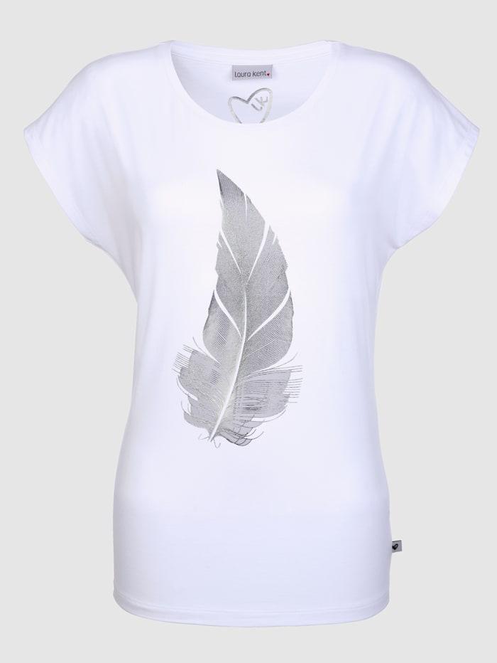 T-shirt à plume