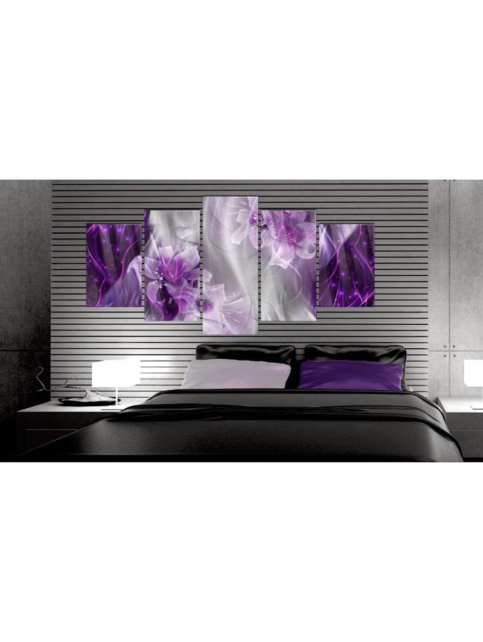 Acrylglasbild Purple Utopia [Glass]