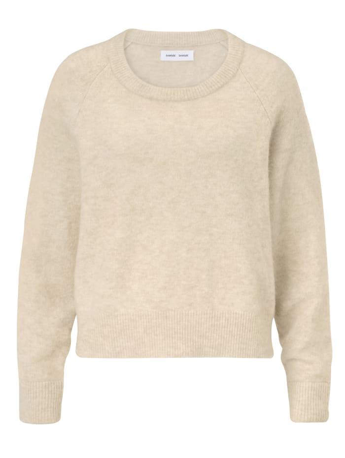 Samsøe Samsøe Pullover, Creme-Weiß