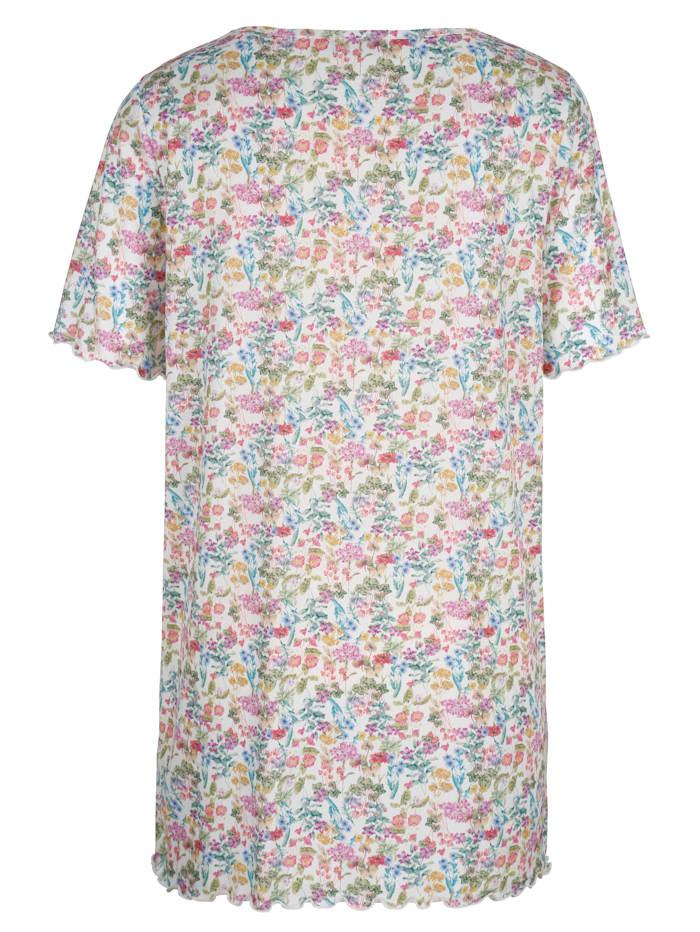 Longshirt floral bedruckt