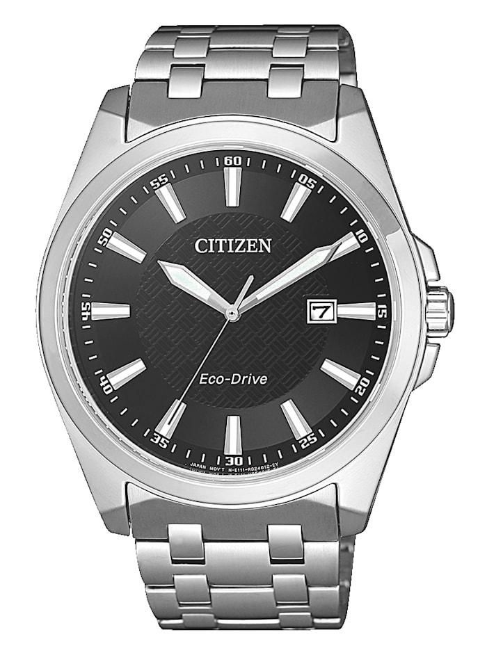 Citizen Herrenuhr Eco-Drive BM7108-81E, Silberfarben