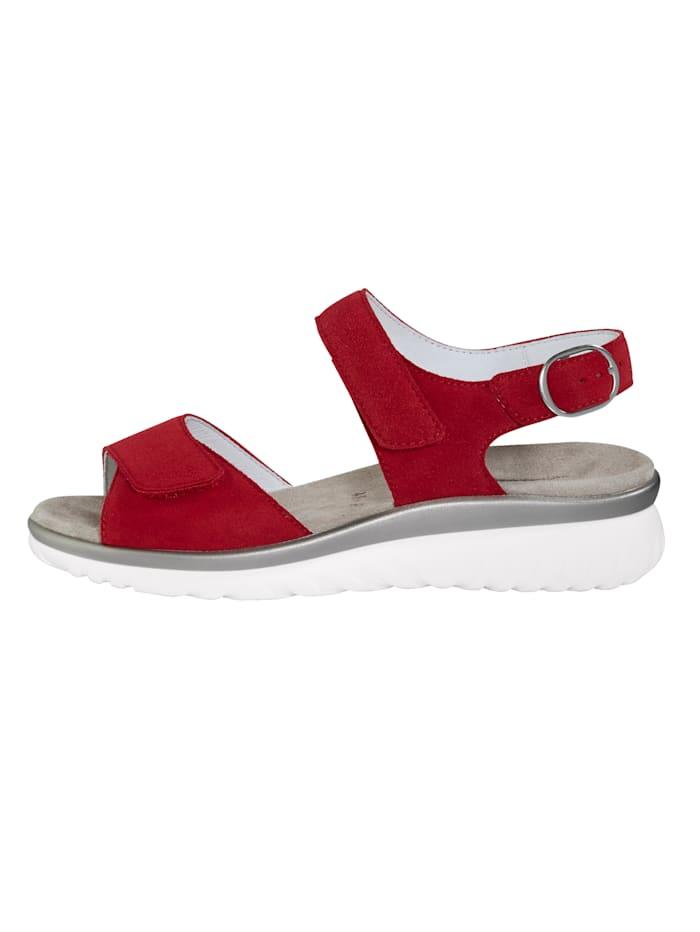 Sandale mit Luftpolsterlaufsohle