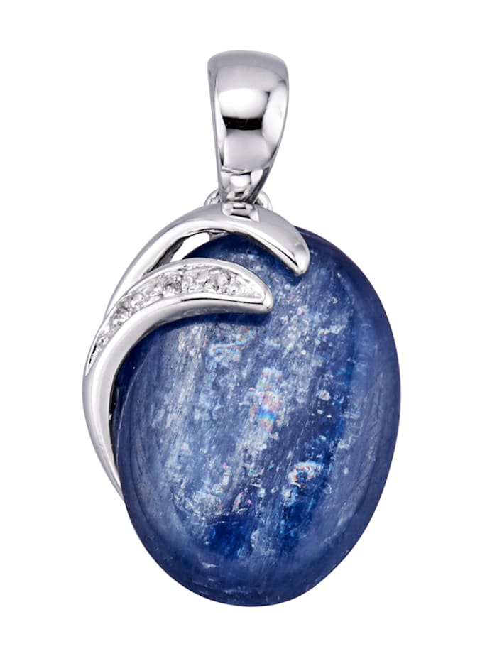 Pendentif à kyanite, Bleu