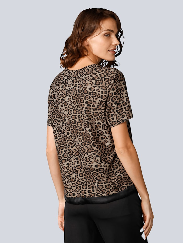 Shirt im angesagten Leoprint