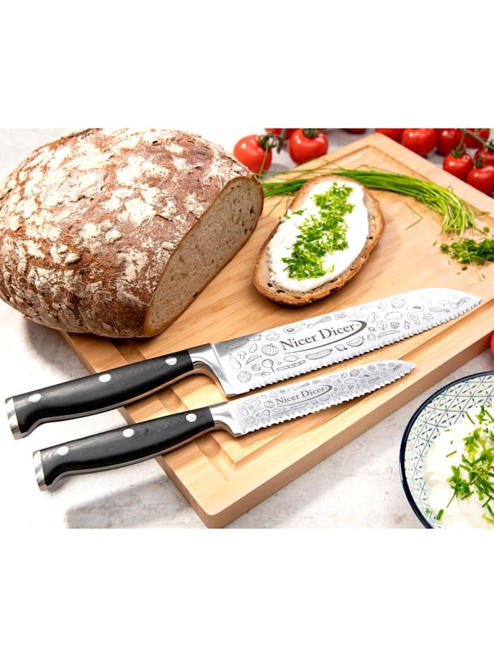 Genius® 7tlg. Set 'Nicer Dicer Knife Professional'