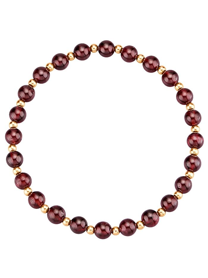Granat-Armband, Rot