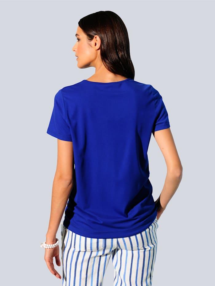 Shirt in schön fließender Viskose-Mischung
