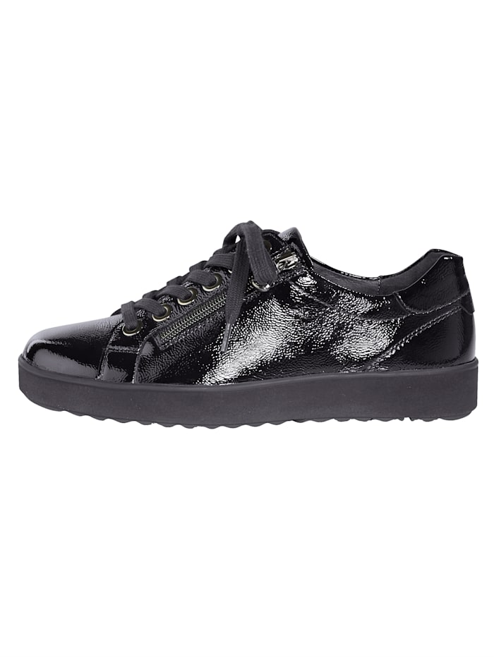 Lace-up shoes with air cushion soles