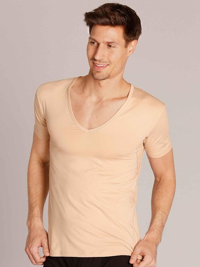 Business Shirt mit V-Neck