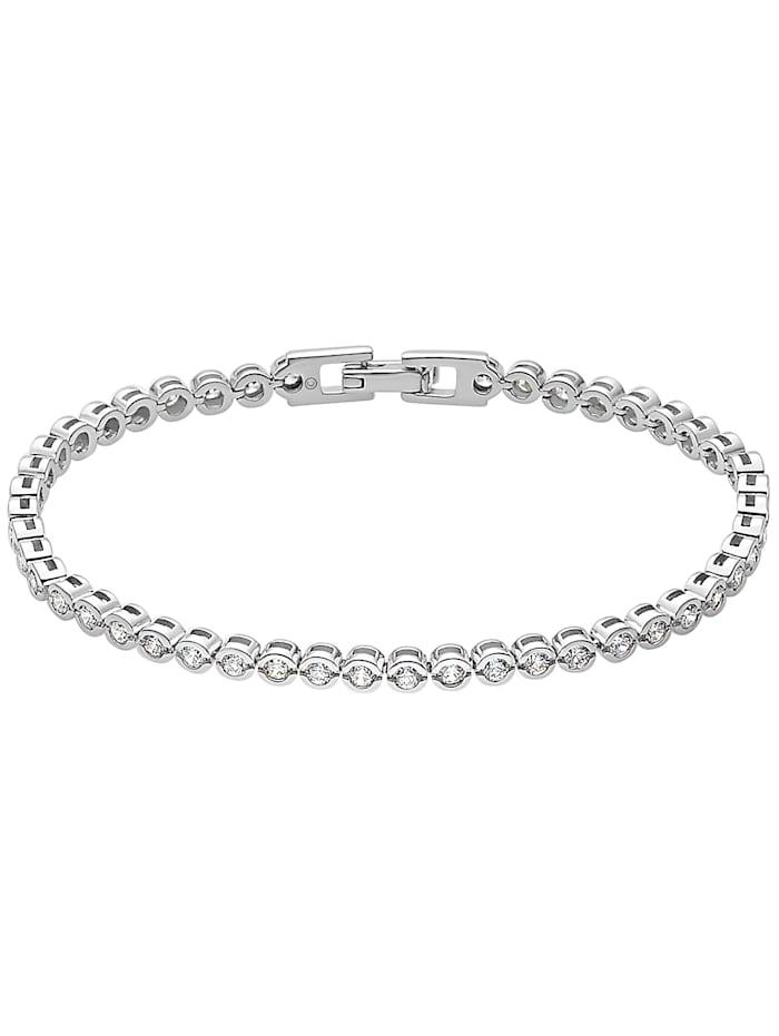 FAVS. FAVS Damen-Armband 925er Silber 46 Zirkonia, silber