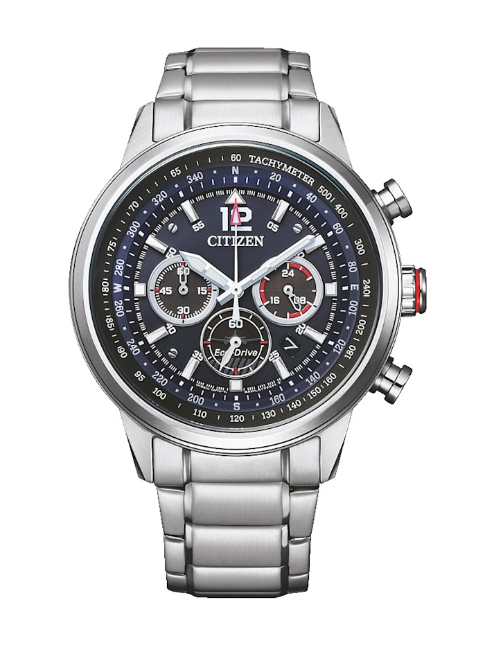Citizen Herrenuhr ECO-Drive, CA4471-80L, Silberfarben