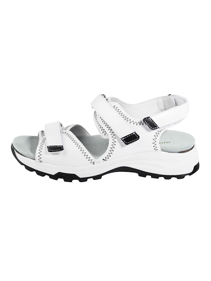 Sandales avec semelle de marche à coussin d'air