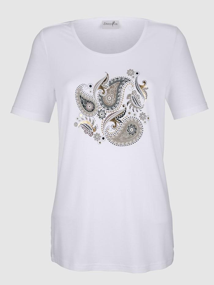 T-shirt à motif cachemire