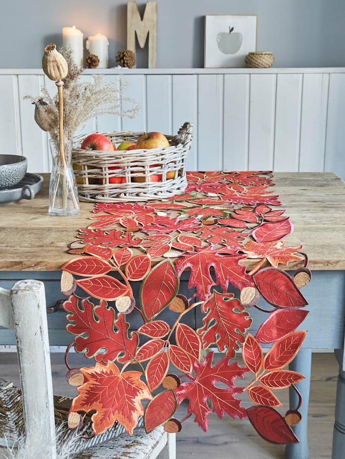 Webschatz Linge de table 'Aki', Marron/Multicolore