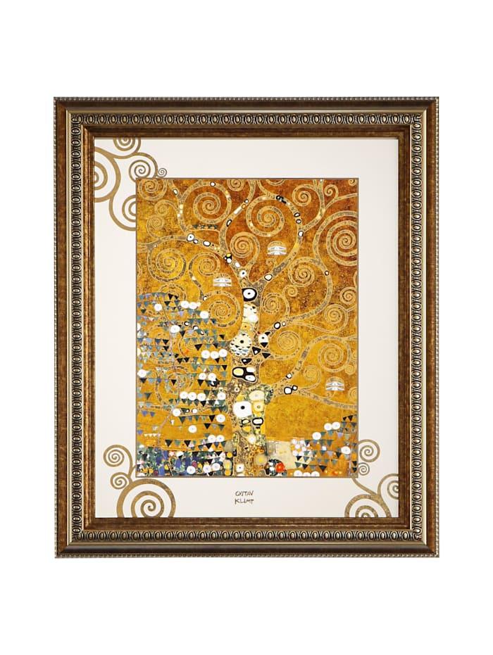 "Goebel Goebel Wandbild Gustav Klimt - ""Der Lebensbaum"", Klimt - Lebensbaum"