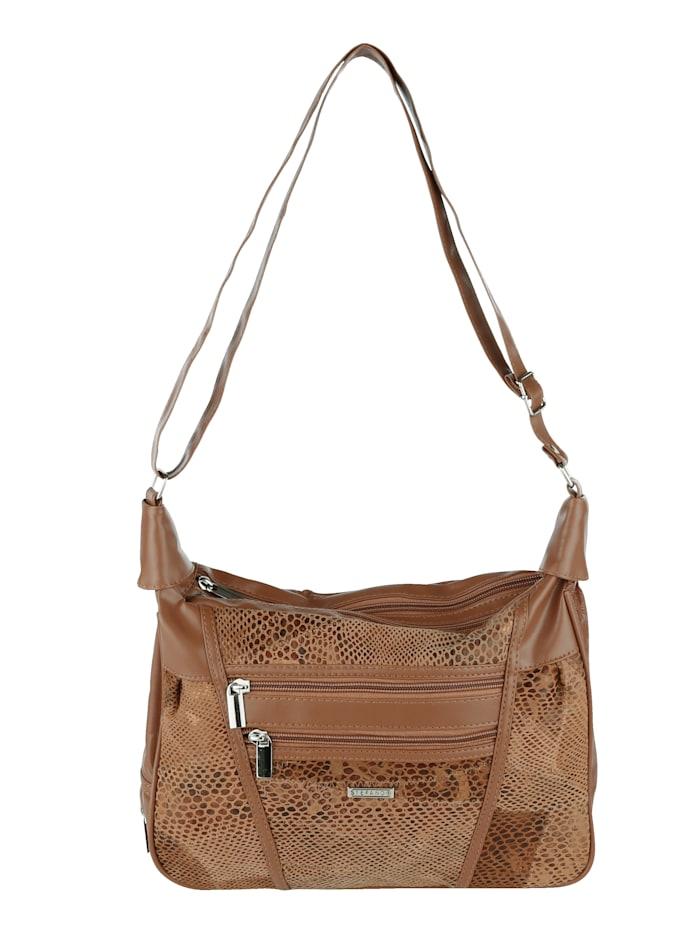 Shoulder Bag In a patchwork design