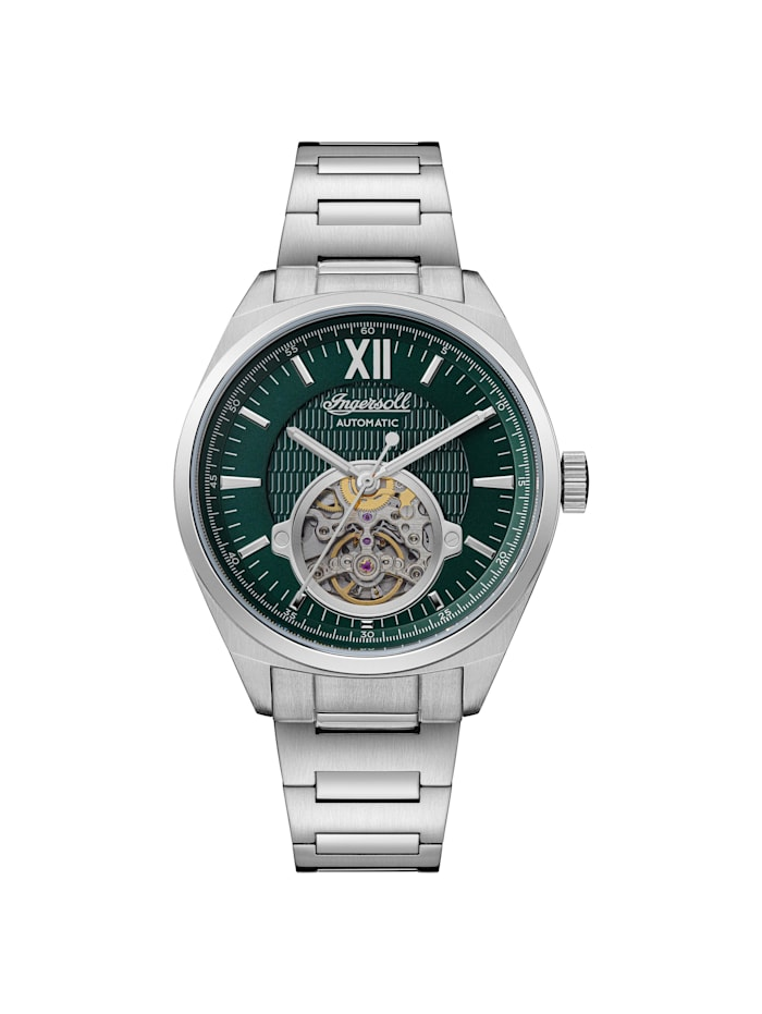 Ingersoll Automatikuhr The Shelby 44mm, silber