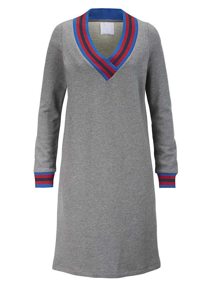 REKEN MAAR Kleid, Grau