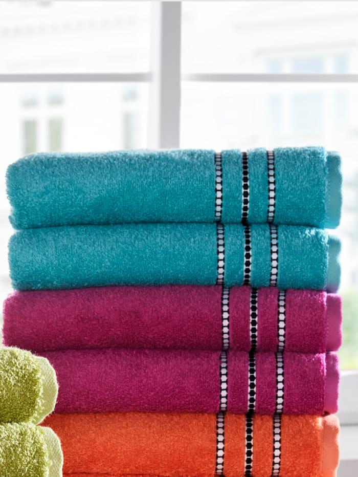 Vossen Handdoeken Fancy, blauw