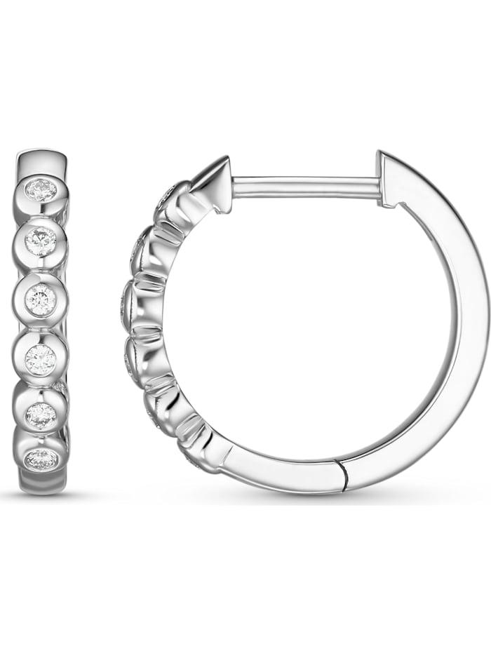 CHRIST Damen-Creolen 12 Diamant