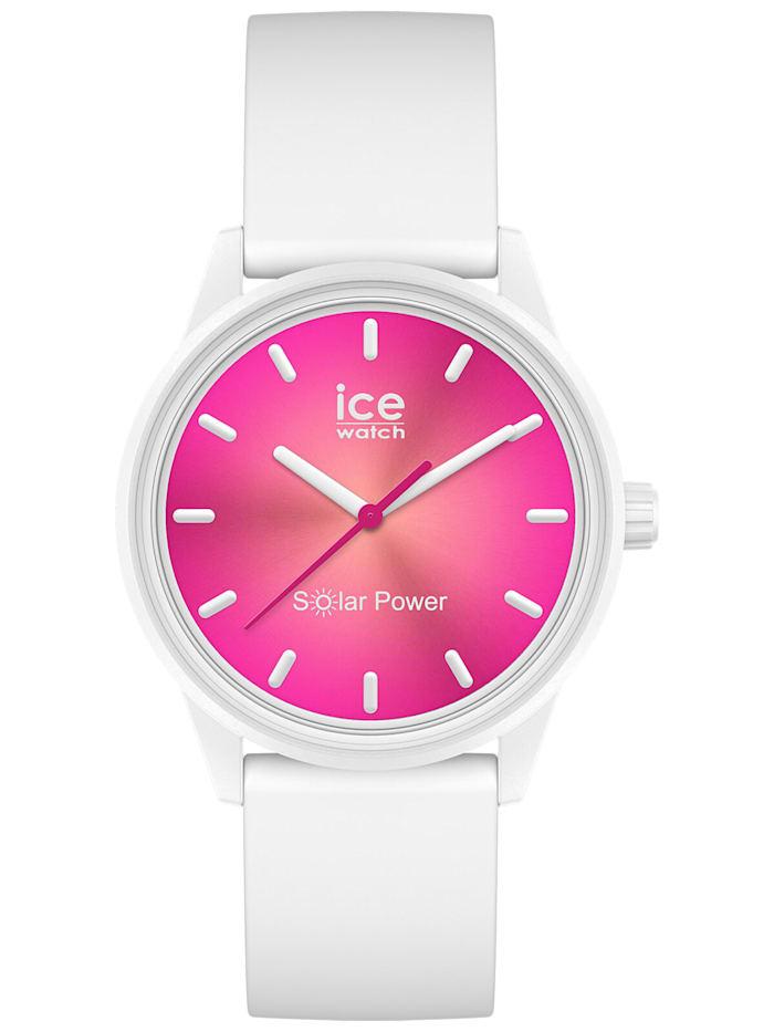 Ice Watch Solar Damenuhr S Coral Reef, Pink