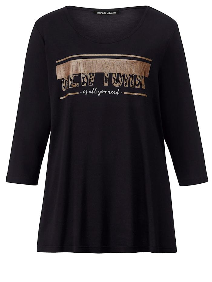 Shirt mit Glanzdruck