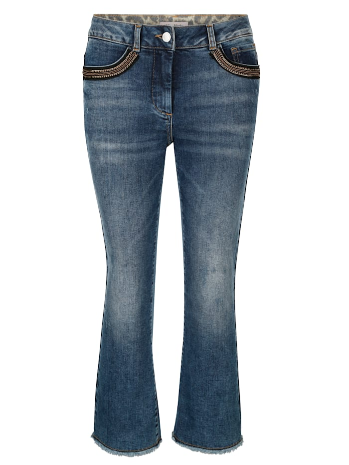 Jeans in modieus culottemodel