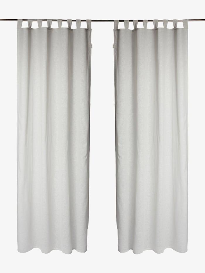 Tom Tailor Vorhang mit Leinen, anthracite