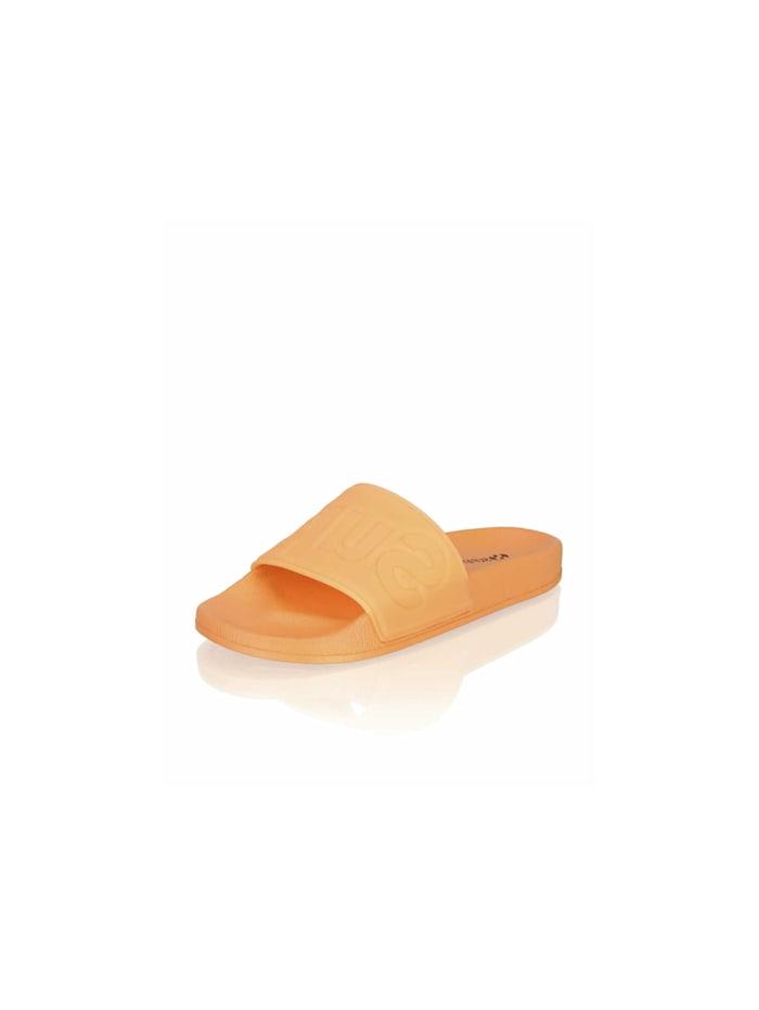 Superga Pantoletten, orange