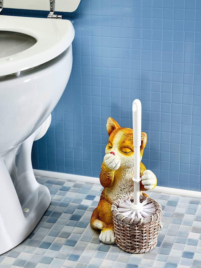 """WC-harja telineessä """"Kissa"""""""